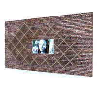 shelf television 3D model