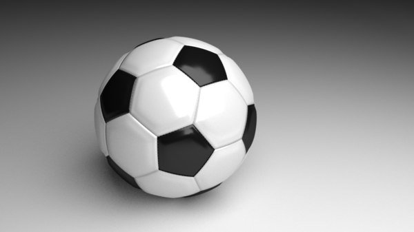 soccer football 3D model