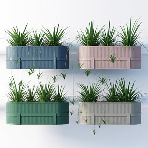 3D balcony ferm living model