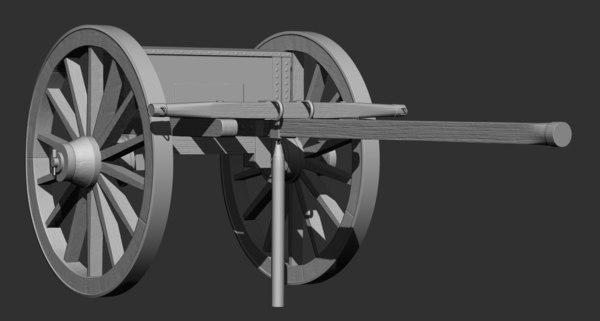 3D wagon limber printing