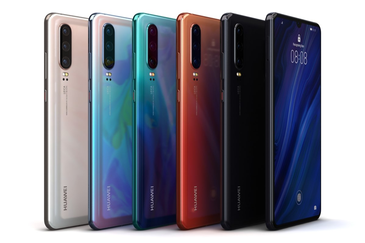 Huawei P30 Color 3D Model
