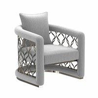3D chair light cushion model