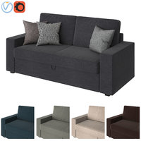 3D sofa ikea vilasund