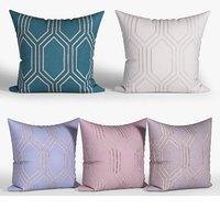 decorative pillows set 076 model