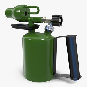 kerosene blowtorch 3D model