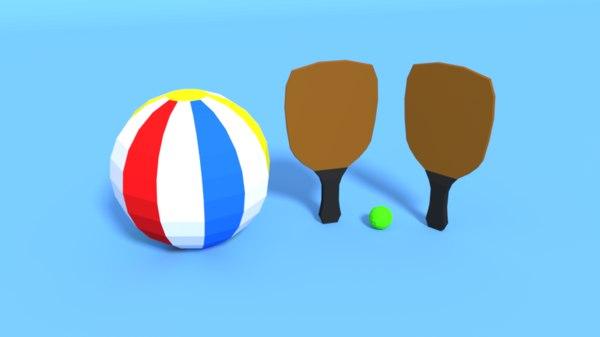 beach pack 3D