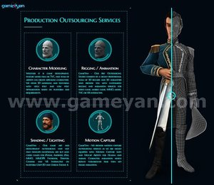 Production Outsourcing Services By GameYan Animation Movie Production Companies