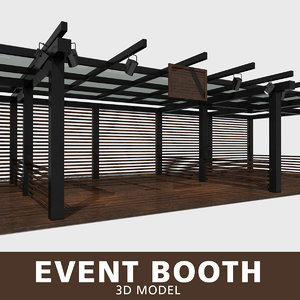 3D event booth