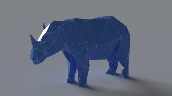 rhinoceros scan sculptures 3D