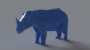 rhinoceros scan sculptures 3D