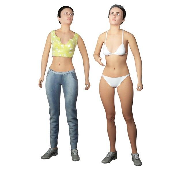 3D real cloths animation