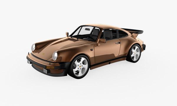 3d model car rendered