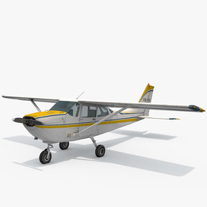 small airplane 3D model