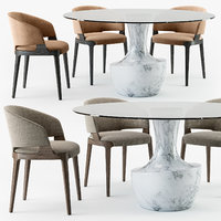 Velis armchair Anfora table set