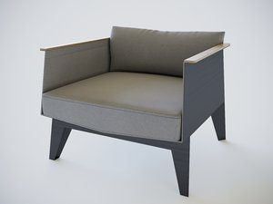3D model chair odesd2