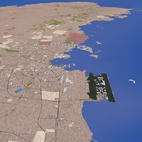 qatar doha 3D model