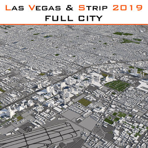 3D las vegas strip