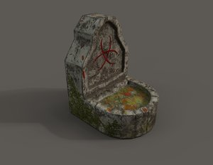 3D monument model