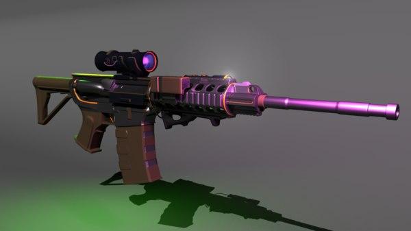 advance rifle patrol model