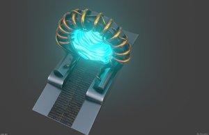 sci-fi portal 3D model