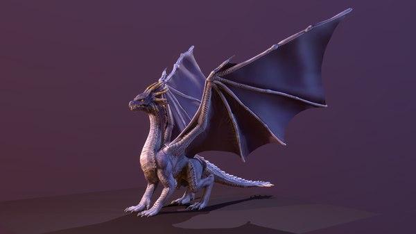 3D stylize dragon