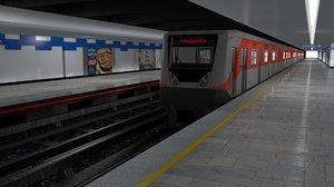 metro cdmx train model