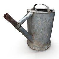 3D watering old rust