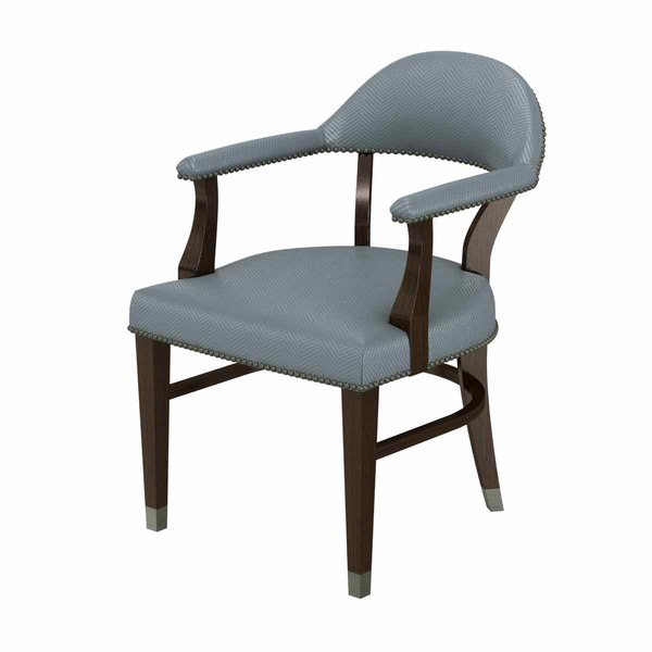 chair dining arm 3D model