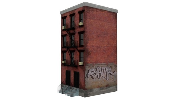 new york city apartment building model