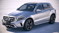 3D mercedes-benz glc 2020