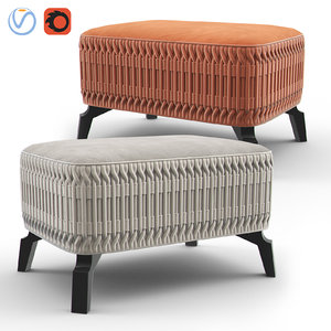 flame bench 3D model