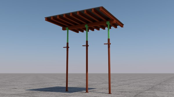 wall formwork 3D model