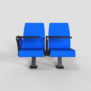 3D ft10 wrimatic auditorium chair
