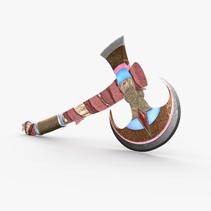 ancient mistry axe 3D