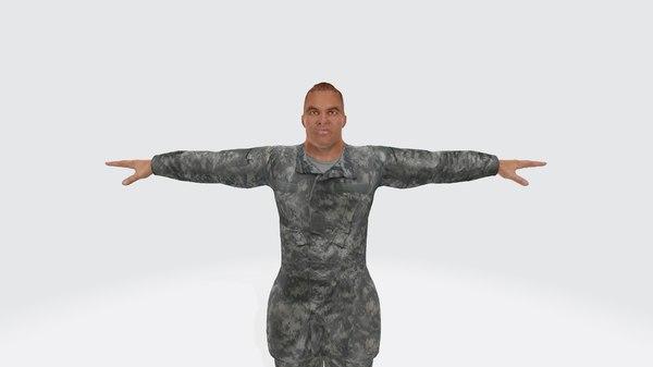 3D model lt john