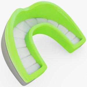 3D mouthpiece mouth