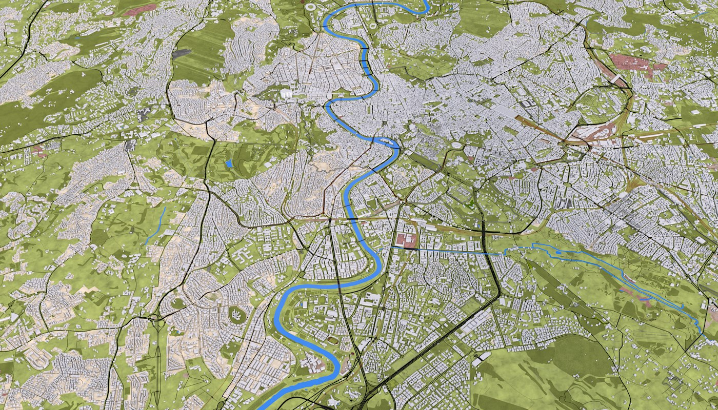 ROME CITY 3D MODEL