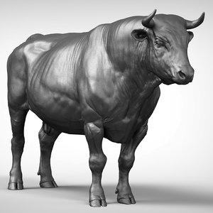 bull v2 3D model