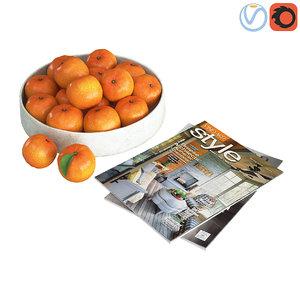 3D decorative fruit