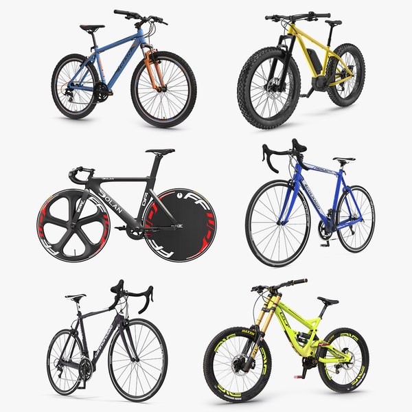 bicycles 4 3D model