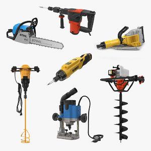 3D industrial power tools 2