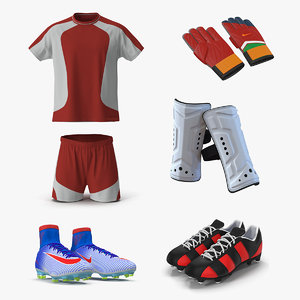 soccer uniform 3D