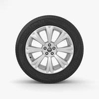3D wheel rim