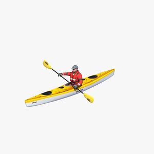 3D sea rower