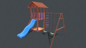 play playground 3D model