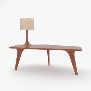 console table lamp 3D