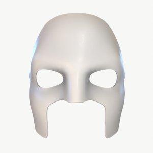 3D model stl mask