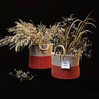 knitted field plants 3D model