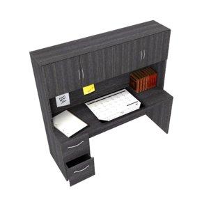 3D hutch office model