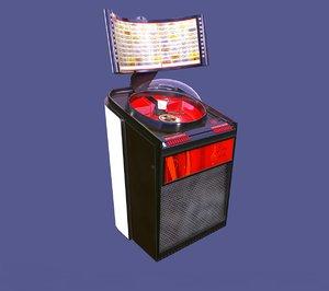 rockola 2 jukebox retro 3D
